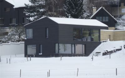 Villa passive à Fenin