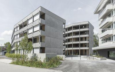 Neu- und Umbau Mehrfamilienhäuser Schaffhauserstrasse / 8152 Glattbrugg