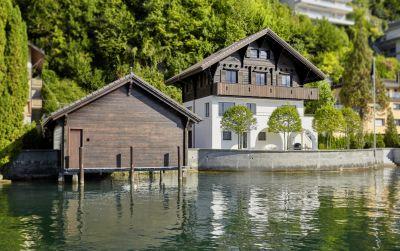 Umbau Chalet am See