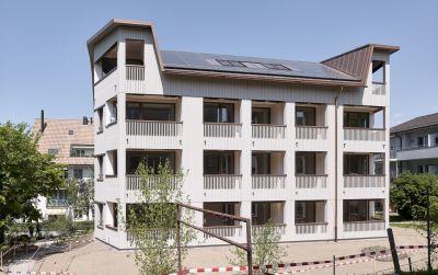 Ersatzneubau Siedlung Gorwiden, Zürich