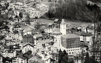 Dorfzentrum Schwanden Glarus