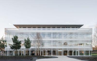 Neubau Bürogebäude mit Garage