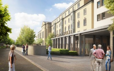 St. Claraspital | Neubau Hirzbrunnenhaus