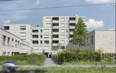 Neubausiedlung Mattenhof in Zürich-Schwamendingen