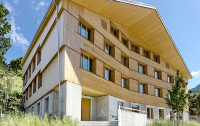 Neubau Jugendherberge Gstaad - Saanenland