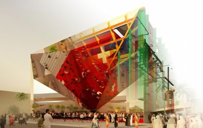 Schweizer Pavillon EXPO 2020 Dubai (Innovation)