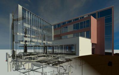 Erweiterung Geschäftshaus A «eGHA» in Esslingen: Konsequent digitalisiertes Planen und Bauen