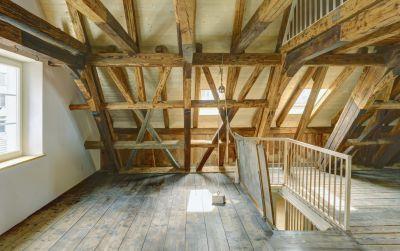 Umbau und Sanierung eines historischen Einfamilienhauses
