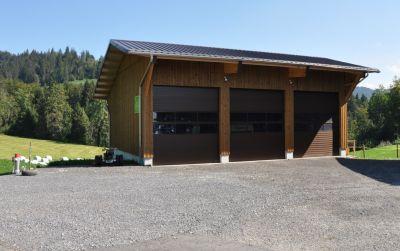 Neubau Remise und Stall