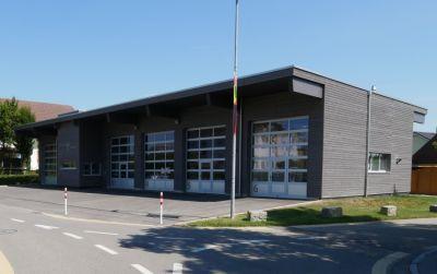 Neubau Werkhof mit Feuerwehrdepot