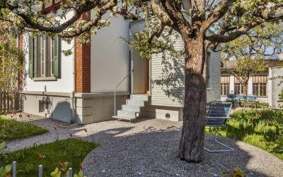 Anbau Doppeleinfamilienhaus unter Denkmalpflege in Bern