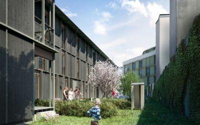 Wohnüberbauung Hebelstrasse / Maiengasse in Basel