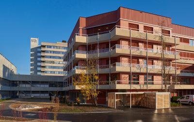 SRO Langenthal, Aufstockung Intensivstation, Einbau Frauenklinik