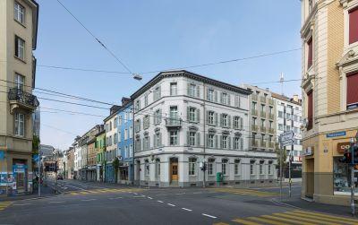Rénovation totale avec agrandissement d'un immeuble