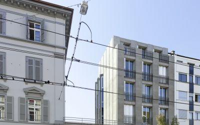 Instandsetzung und Neubau Klybeckstrasse 37, Basel