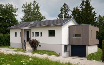 Rénovation d'une maison avec agrandissement bois