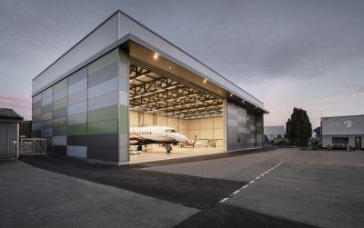 Flugzeughangar Bern-Belp