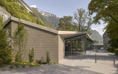 Un Jardin anglais pour le Château de Chillon
