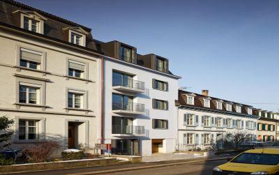 Aufstockung und Erneuerung Mehrfamilienhaus Homburgerstrasse, Basel