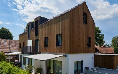 Neubau Doppeleinfamilienhaus in Ueberstorf