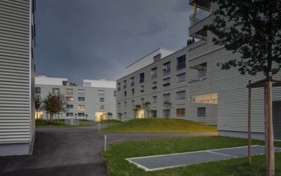 Wohnüberbauung Siebenmättli Aarau-Rohr