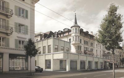 Bauen im Bestand, Hirschmattstrasse in Luzern