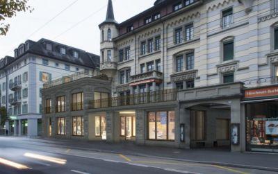 Bauen im Bestand, Hirschmattstrasse Luzern