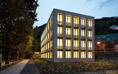 Renovation und Erweiterung Oberstufenschulhaus Quader: Erweiterungsbau