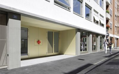 Neubau Rotkreuzhaus