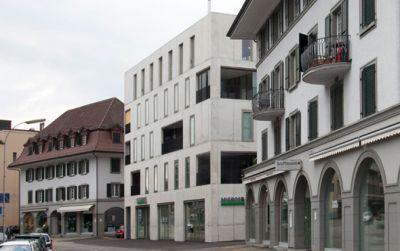 MINERGIE Wohn- und Geschäftshaus Poststrasse 6, Burgdorf