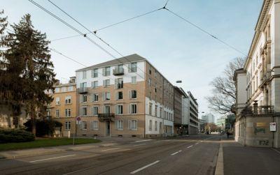 Wohn- und Geschäftshaus Selnaustrasse