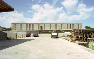 Bâtiment administratif et logistique L. Gasser & Co AG