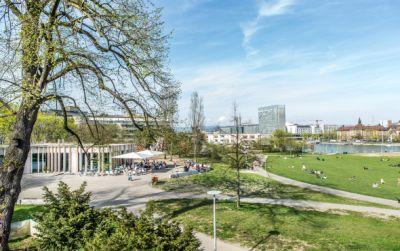 Neubau Pavillon St. Johanns-Park
