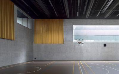 Salle de sport polyvalente Brillantmont International School
