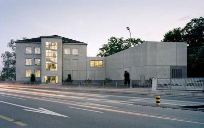 Mensa und Medienzentrum, Alte Kantonsschule, Aarau