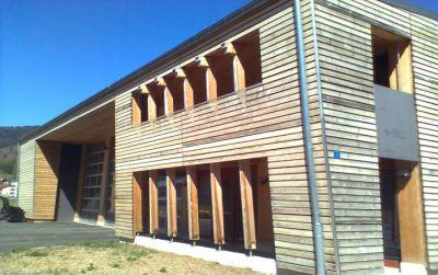 Centre forestier à Noiraigue, commune de Val-de-Travers pour l'Etat de Neuchâtel