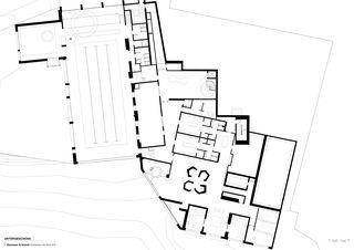 Wellnessgeschoss wellnessHostel4000 & Aqua Allalin  von SSA Architekten AG BSA SIA