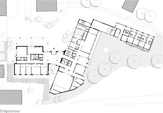 Erdgeschoss Martinsheim von SSA Architekten AG BSA SIA