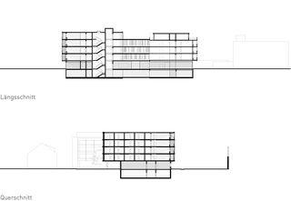 Schnitte Martinsheim von SSA Architekten AG BSA SIA