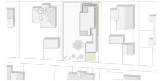Situationsplan Haus Lüthi von Andreas Marti & Partner Architekten AG