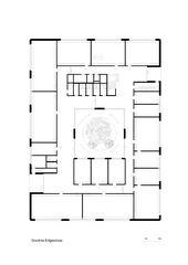 Grundriss EG Schulraumerweiterung Breiteacker Pfungen von Roswitha Büsser, Architektin ETH SIA BSA
