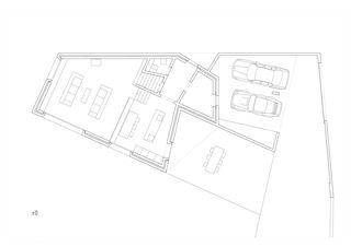 Plan ±0 Maison Fabrizzi, Conthey von Savioz Fabrizzi architectes Sàrl