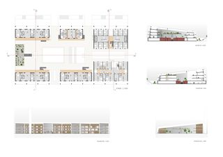 Plans etage + coupes + facades Acacia Cornigera von