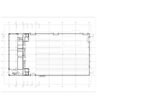 Grundriss Erdgeschoss. Büronutzung, Shop, sowie 3100 m2 Lager Neubau Baukeramik Hardwald von HZDS AG