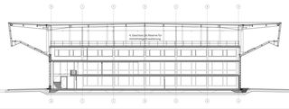 Querschnitt Nord - Süd Neubau Baukeramik Hardwald von HZDS AG