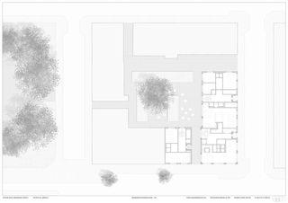 GRUNDRISS ERDGESCHOSS 1:100 Aparthotel am Klingenpark von