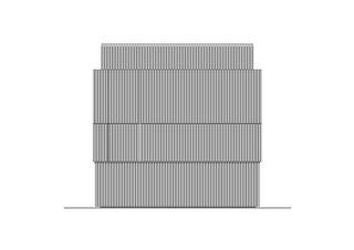 Ansicht Ost Züri WC am Stadthausquai von Michael Meier und Marius Hug Architekten AG