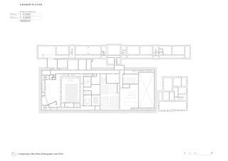 1. Untergeschoss Musée d'Ethnographie de Genève de Graber Pulver Architekten