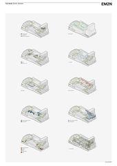 Axonométries Toni-Areal de EM2N | Mathias Müller | Daniel Niggli<br>Architekten AG | ETH | SIA | BSA