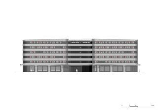 Ansicht Dorint Airport Hotel von burkhalter sumi architekten
